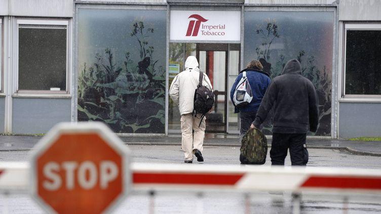 L'usine de Seita à Nantes (Loire-Atlantique) emploie 327 personnes. (MAXPPP)