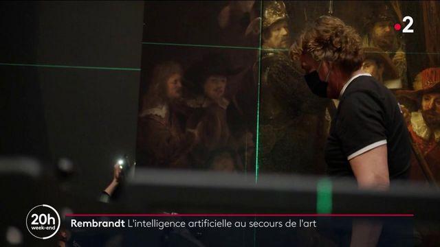 Art : la Ronde de nuit de Rembrandt ressuscitée grâce à l'intelligence artificielle