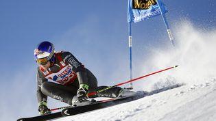 Alexis Pinturault lors du slalom géant de Val d'isère le 10 décembre 2016. (AFP)