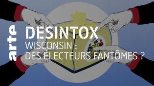 Désintox. États-Unis : non, il n'y a pas eu d'électeurs fantômes dans le Wisconsin (ARTE/2P2L)