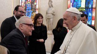 Martin Scorsese et le pape François  (HO / AFP OSSERVATORE ROMANO / AFP)