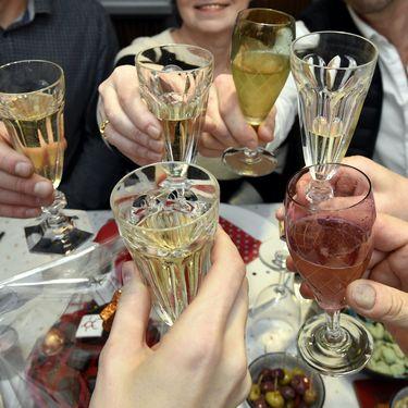 Selon une étude de Santé publique France, dévoilée mardi 19 février 2019, 7% des décès sont dus à la consommation d'alcool. (PHOTO PQR / L'EST REPUBLICAIN / MAXPPP)