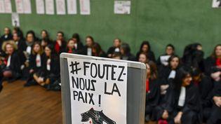 Des avocats mobilisés à Lyon (Rhône) contre la réforme des retraites, le 17 janvier 2020. (MAXPPP)