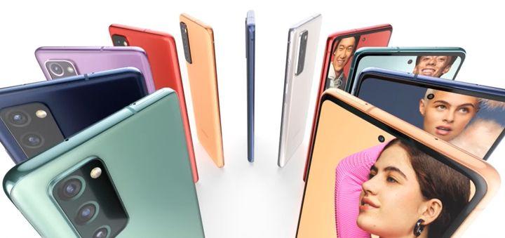 Le modèle est disponible en de nombreux coloris. (Samsung)