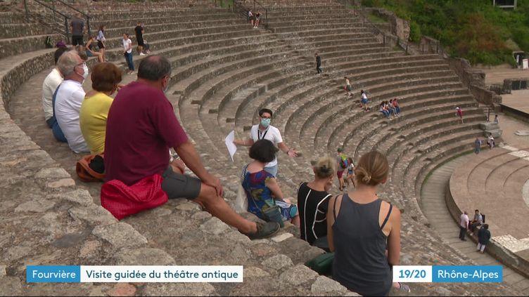 Une découvrrte vivante de Lugdunum - musée et Théâtre antiques de Lyon. (J. Adde / France Télévisions)