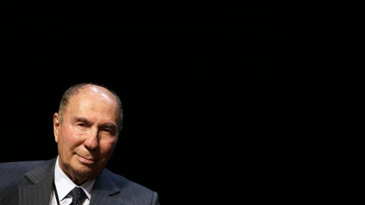 Serge Dassault à Draveil (Essonne), le 13 juin 2012. (KENZO TRIBOUILLARD / AFP)