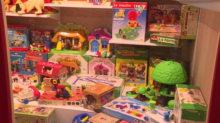 Musée des jeux des années 80 :Retour vers le jouet. (DERMERSEDIAN Valerie / France Télévisions)