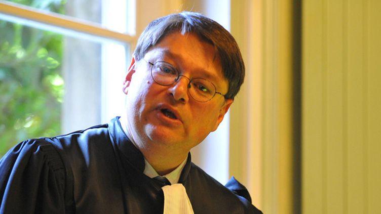 (François Pérain, le procureur de Valenciennes a expliqué la lourdeur de la peine par l'apologie du terrorisme © MAXPPP)