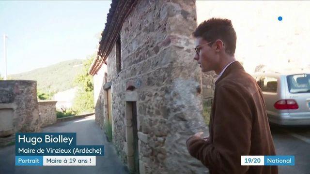 Ardèche : un maire seulement âgé de 19 ans