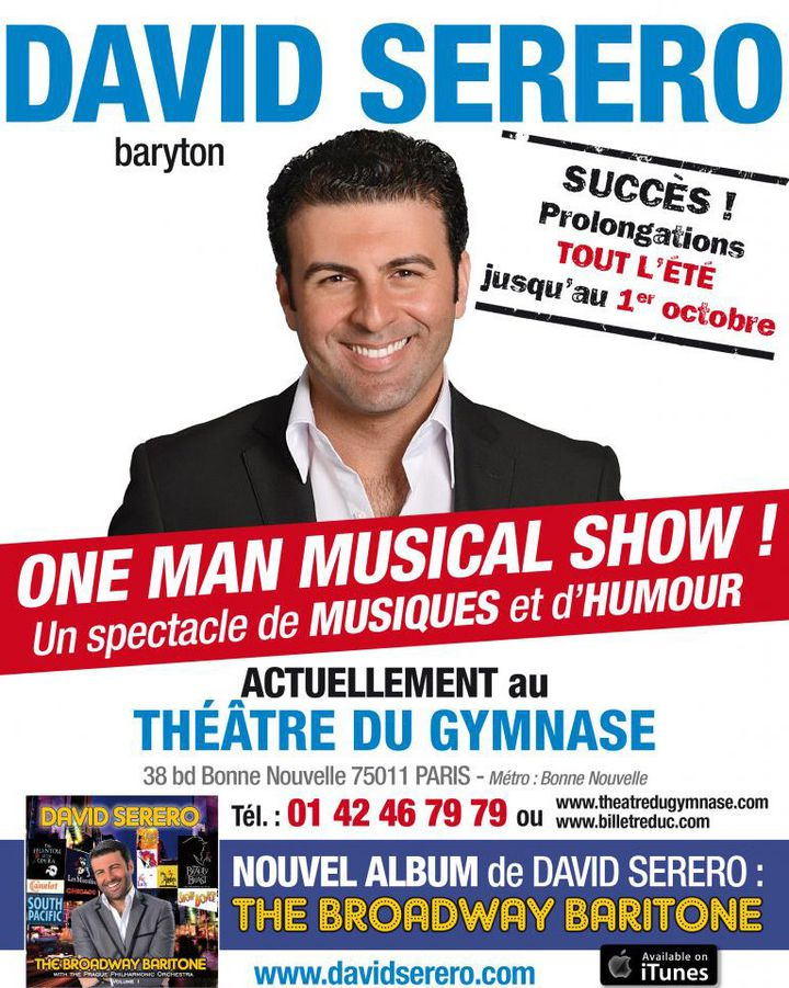 """One man musical show!"" l'affiche  (DR)"