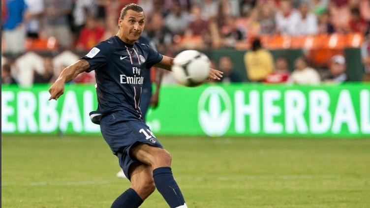 L'attaquant  Zlatan Ibrahimovic a réussi ses débuts avec Paris