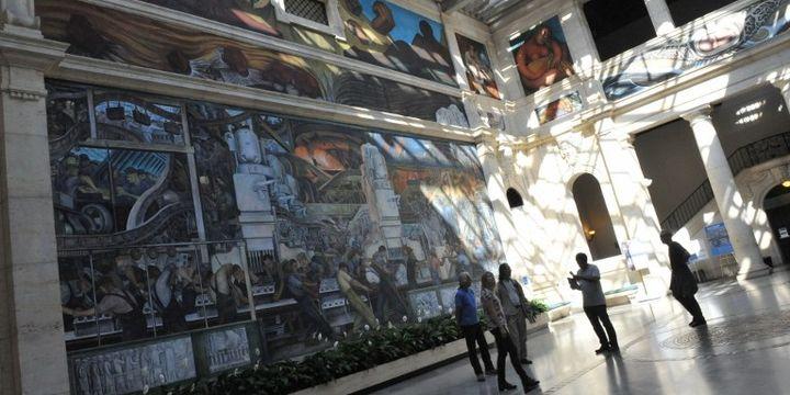 Le musée d'art de Détroit  (MIRA OBERMAN / AFP)