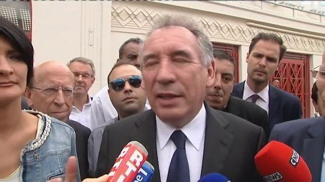 Bayrou   Quand il y aura quelque chose à dire, je le dirai