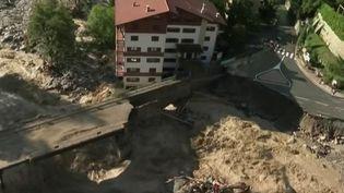 Intempéries dans les Alpes-Maritimes : trois villages toujours coupés du monde (FRANCE 2)