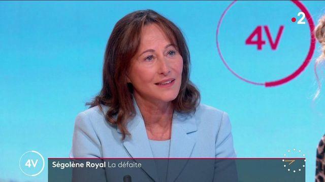 """Élections sénatoriales : """"Le PS m'a fait battre"""", affirme Ségolène Royal"""