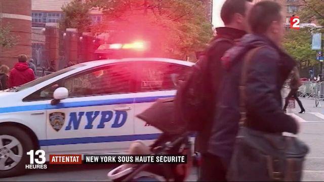 Attentat à New York : la ville sous haute sécurité