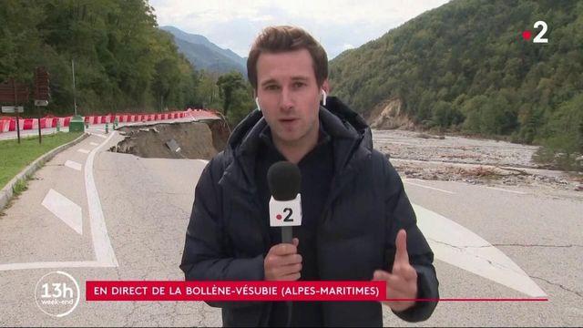 Intempéries dans Alpes-Maritimes : les recherches des personnes disparues se poursuivent