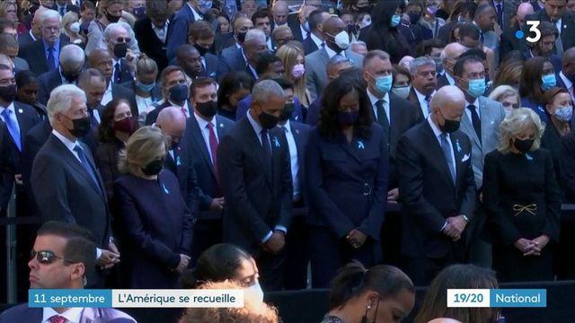 Attentats du 11-Septembre : des cérémonies placées sous le signe de l'émotion