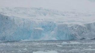 Dimanche 9 février, la barre des 20 degrés Celsius a été franchie en Antarctique. Une douceur historique qui est la conséquence du réchauffement climatique. (France 2)