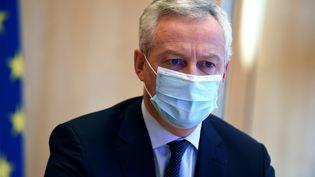 Le ministre de l'Economie Bruno Le Maire, le 20novembre 2020, à Paris. (ERIC PIERMONT / AFP)