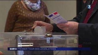 Le vote a commencé en Outre-mer pour les législatives. (FRANCE 3)