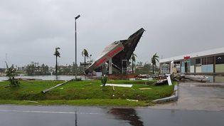 L'état de catastrophe naturelle a été décrété pour un mois aux Fidji après le passage du cyclone Winston, samedi 20 février. (JAY DAYAL / AFP)
