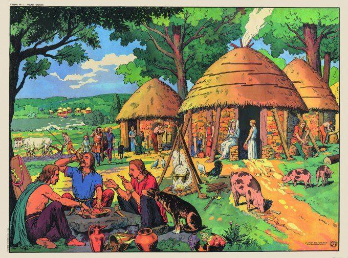 Village gaulois  (DR Hoebeke)