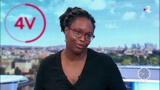Sibeth N'Diaye, la porte-parole du gouvernement. (France 2)