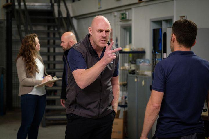 L'acteur britannique Ross Brewster dans Sorry We Missed You de Ken Loach (Le Pacte)