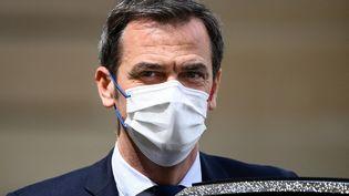 Le ministre de la Santé, Olivier Véran, à l'Elysée, à Paris, le 19 mai 2021. (FRANCK FIFE / AFP)