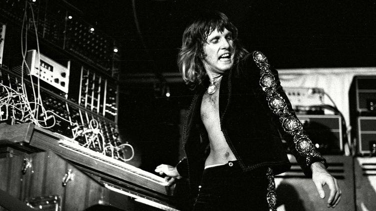 Keith Emerson de Emerson Lake & Palmer dans les années 70.  (Chris Foster/Shuttersto/SIPA)