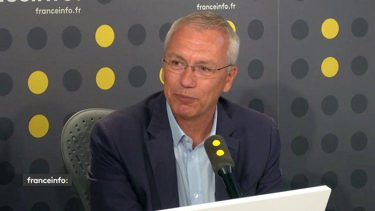 Patrick Nossent, expert en bâtiments, était l'invité de franceinfo jeudi 25 juillet 2019. (FRANCEINFO)
