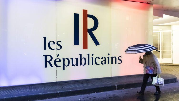 Le siège des Républicains, à Paris, le 6 novembre 2019. (VINCENT ISORE / MAXPPP)