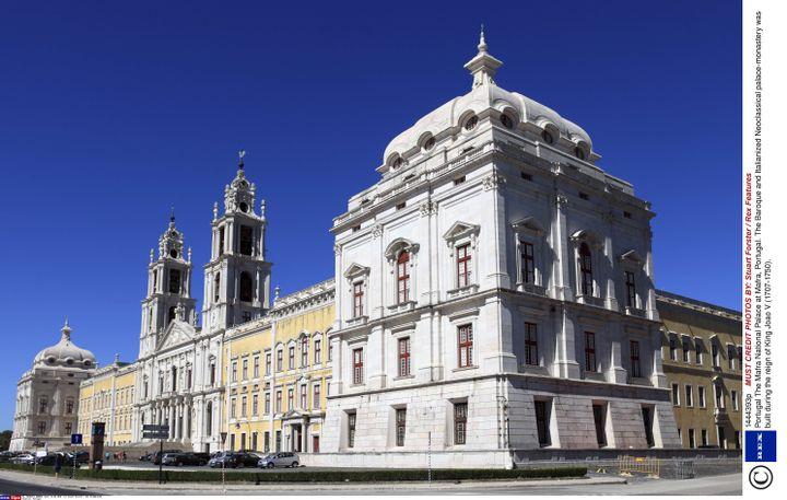 Le palais Mafra, au Portugal, construit en 1717. (STUART FORSTER / REX FE/REX/SIPA / REX)