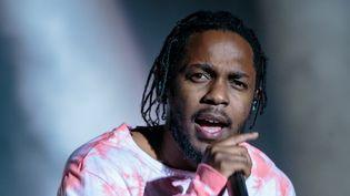 Kendrick Lamar au festival Austin City Limits en octobre 2016.  (Suzanne Cordeiro / AFP)