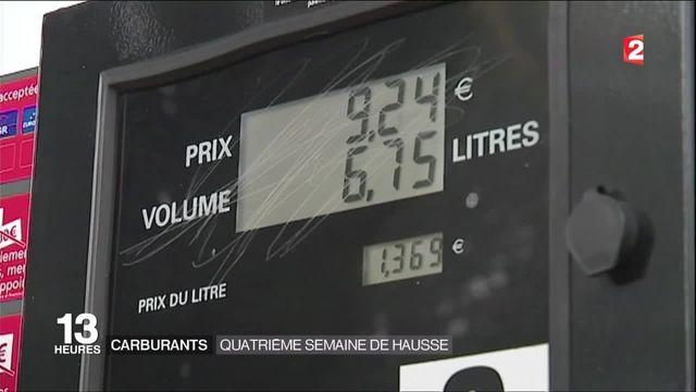 Prix des carburants : quatrième semaine consécutive de hausse