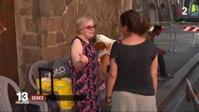 Gênes : la solidarité s'organise