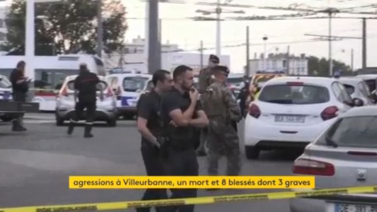 Agression Villeurbanne (FRANCEINFO)