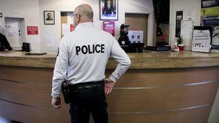 Illustration. Un commissariat de police à Paris, le 24 janvier 2018. (MAXPPP)