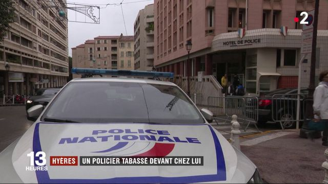 Var : un policier violemment agressé devant chez lui à Hyères
