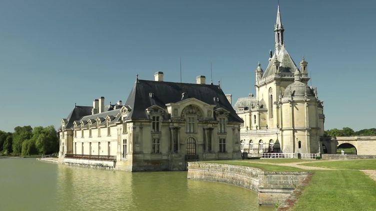 Le château de Chantilly. (L. Bazizin / France Télévisions)