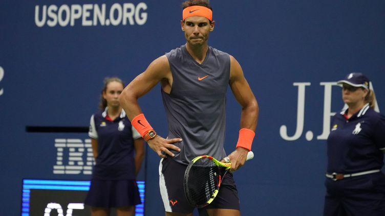 Nadal déclare forfait pour le masters de Londres, Djokovic est assuré de terminer la saison numéro 1 mondial. (TIMOTHY A. CLARY / AFP)