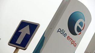 Un panneau de l'agence Pôle emploi de Saint-Louis (Haut-Rhin), le 24 janvier 2017. (MAXPPP)