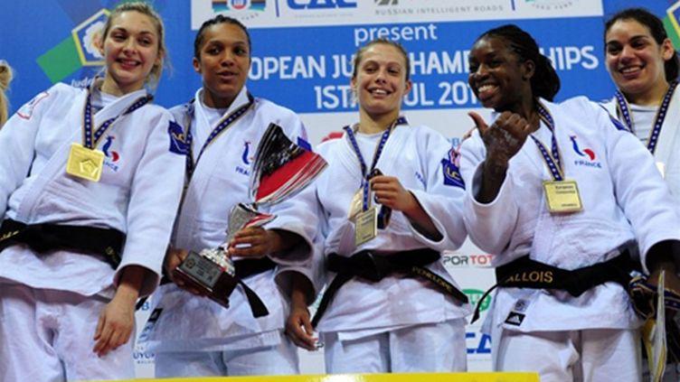 Les judokates françaises championnes d'Europe