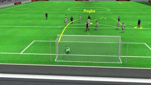 France-Suisse : le but magistral de Paul Pogba (3-1)