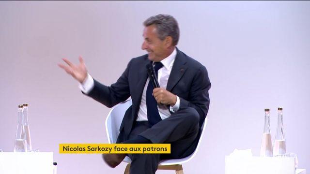 Nicolas Sarkozy, guest star lors de l'université d'été du MEDEF