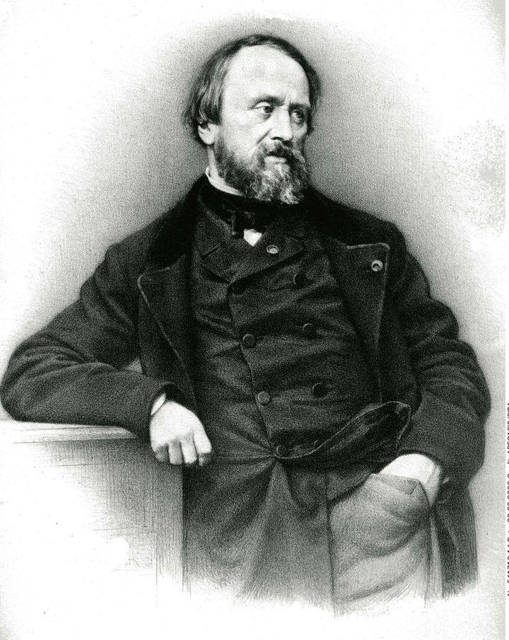 Hyppolyte Flandrin né à Lyon le 23 mars 1809 et mort à Rome le 21 mars 1864  (ABECASIS/SIPA)