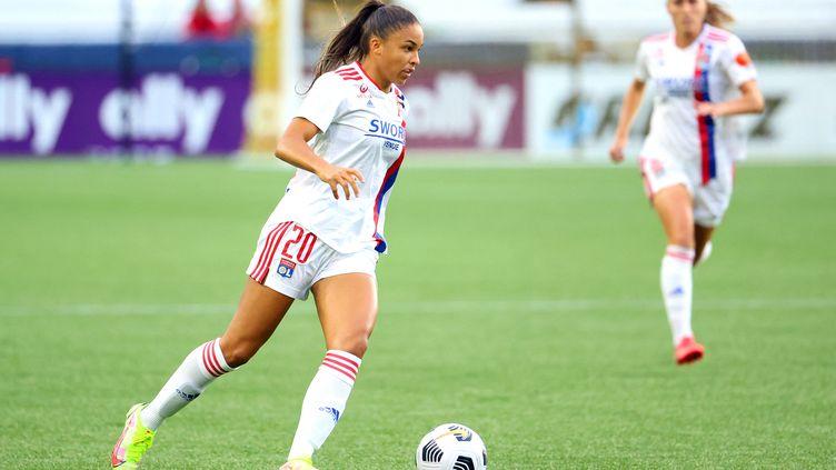 Delphine Cascarino, joueuse de l'OL. (ABBIE PARR / GETTY IMAGES NORTH AMERICA)