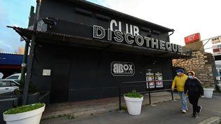 Une discothèque fermée à Sète (Hérault), le 24 novembre 2020. (PASCAL GUYOT / AFP)