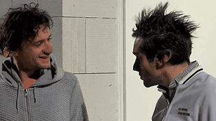 """Prothèses et masques, les personnages de """"Labaraque"""", en plein délire terroriste au Festival Reims Scènes d'Europe du 6 au 12 février  (France 3 / Culturebox)"""